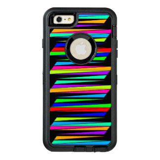 Abstract colorful lines OtterBox iPhone 6/6s plus case
