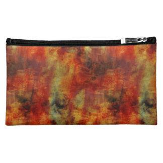 Abstract colorful makeup bag