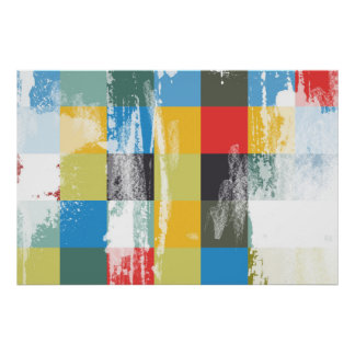Abstract Colorful Modern Design Poster