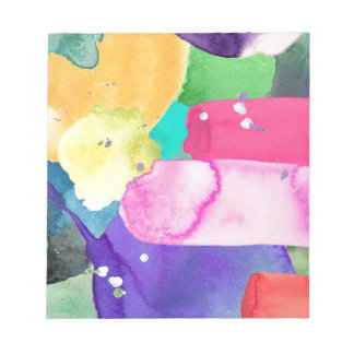 ABSTRACT COLORFUL NOTEPAD