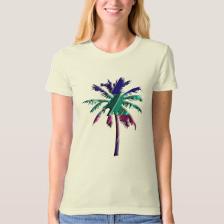 Abstract Colorful Palm Tree T-Shirt