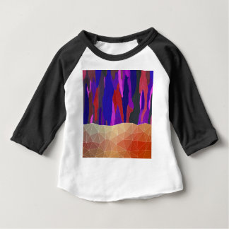Abstract Colorful Pastel look Design Baby T-Shirt
