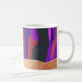 Abstract Colorful Pastel look Design Coffee Mug