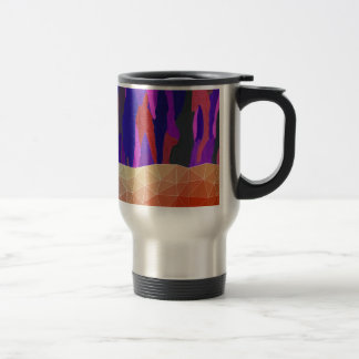 Abstract Colorful Pastel look Design Travel Mug
