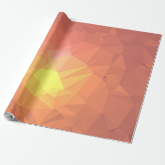 Abstract & Colorful Pattern Design - Earth Core Wrapping Paper