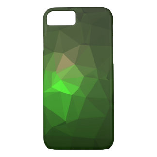 Abstract & Colorful Pattern Design - Green Lantern iPhone 8/7 Case