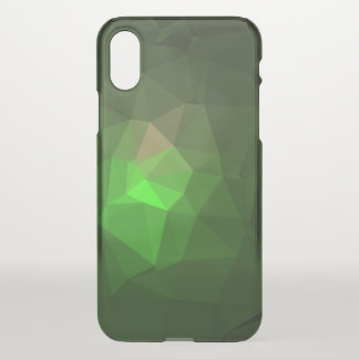 Abstract & Colorful Pattern Design - Green Lantern iPhone X Case