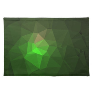 Abstract & Colorful Pattern Design - Green Lantern Placemat