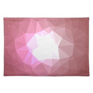 Abstract & Colorful Pattern Design - Rose Shine Placemat