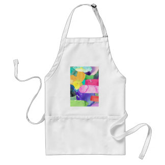 ABSTRACT COLORFUL STANDARD APRON