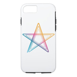 Abstract colorful star Case-Mate iPhone case