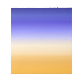abstract colorful sun rise inspired artwork notepad