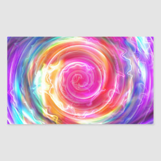 abstract colorful swirl by Tutti