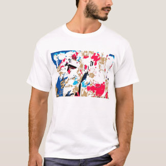 Abstract , colorful texture T-Shirt