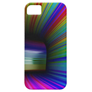 Abstract colorful tunnel iPhone 5 case