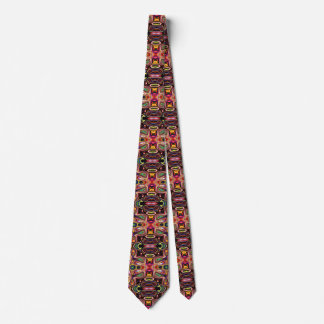 Abstract Colors And Shapes Tie