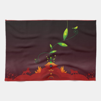 Abstract Colors Kitchen Towel