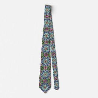 Abstract Colors Mandala 2 Tie