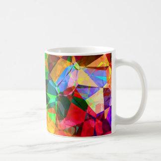 Abstract colors mug