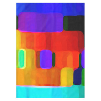 Abstract Colors Tablecloth
