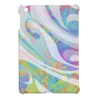 Abstract Colors Waves Design iPad Mini Case