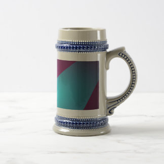 Abstract Colors with Black Background Coffee Mug