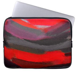 Abstract Colour Art Laptop Sleeve