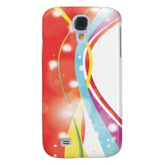 Abstract Colour Samsung Galaxy S4 Case