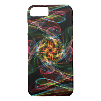 Abstract Coloured Flames Case-Mate iPhone Case