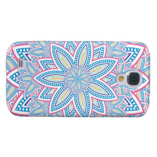 Abstract Colourful Design Galaxy S4 Cover
