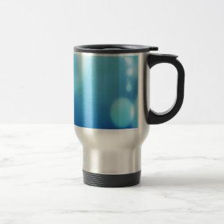 Abstract Colours Blue Vision Travel Mug