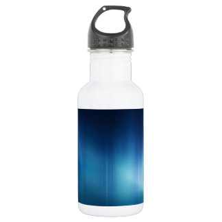Abstract Colours Great White Blue 532 Ml Water Bottle