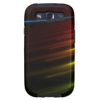 Abstract Colours Ray Of Lights Galaxy S3 Cases