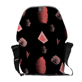 abstract commuter bag