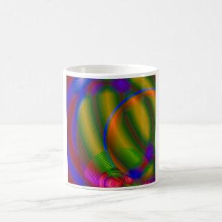 Abstract Compact Disc Mug