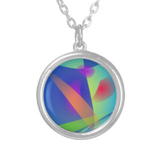 Abstract Composition Light Blue Jewelry
