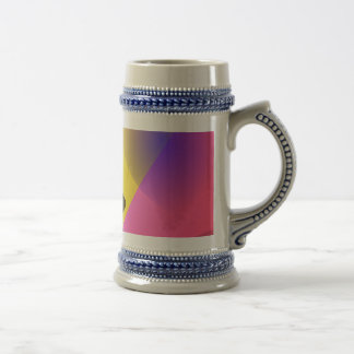 Abstract Composition Red Wind Coffee Mug
