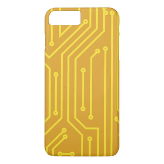 Abstract computer equipment iPhone 7 plus case