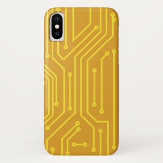 Abstract computer equipment iPhone x case