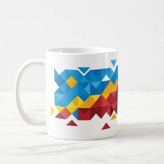 Abstract Congo Flag, Democratic Republic of Congo Coffee Mug