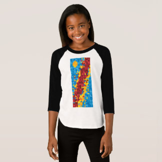 Abstract Congo Flag, Democratic Republic of Congo T-Shirt