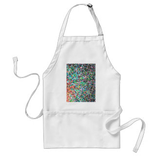 abstract contemporary colors No 15 Standard Apron