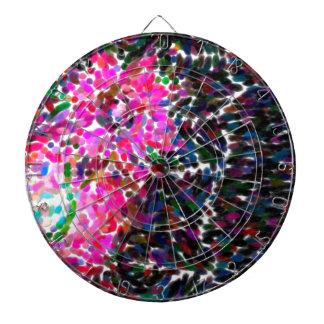 abstract contemporary colors No 16 Dartboard