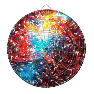 abstract contemporary colors No 18 Dartboard