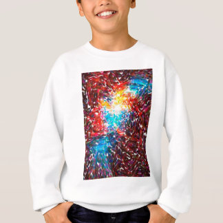 abstract contemporary colors No 18 Sweatshirt