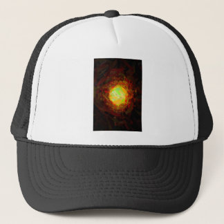 abstract contemporary colors No 24 Trucker Hat