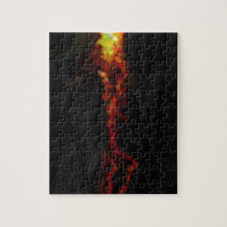 abstract contemporary colors No 25 Puzzle