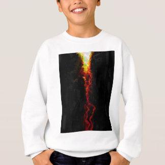 abstract contemporary colors No 25 Sweatshirt