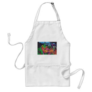 abstract contemporary colors No 27 Standard Apron
