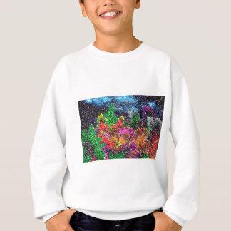 abstract contemporary colors No 27 Sweatshirt